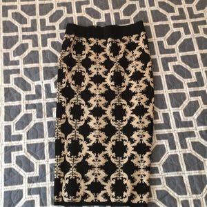 New York and company 7th Avenue midi skirt